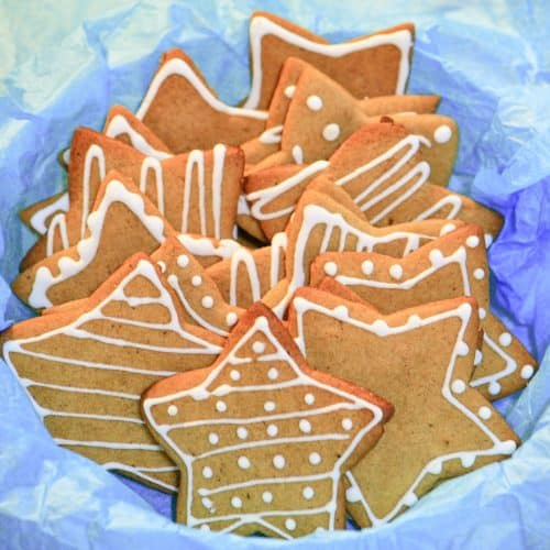 Crunchy Gingerbread Cookies