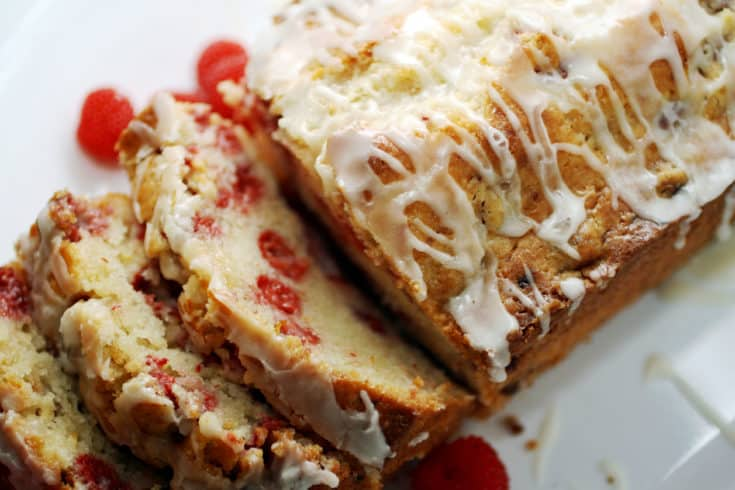 Easy Raspberry Lemon Bread