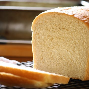 Easy White Bread from Scratch
