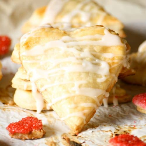 Heart Shaped Guava Hand Pies
