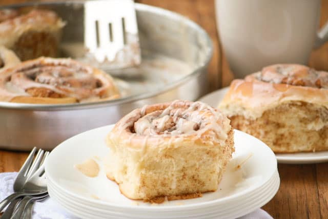 Homemade, Fluffy Cinnamon Rolls