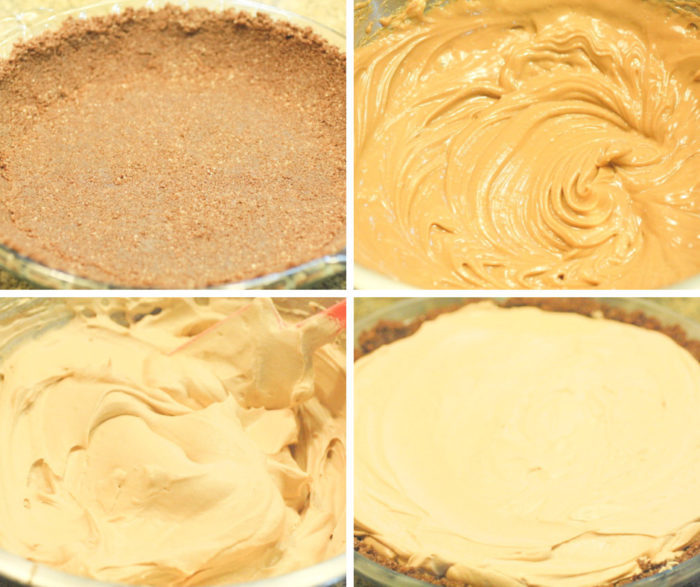 No-Bake Dulce de Leche Cheesecake Pie how to