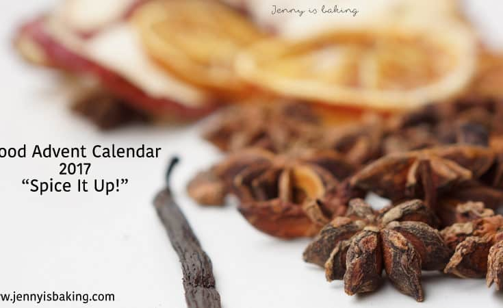 "Food Advent Calendar - ""Spice It Up!"""