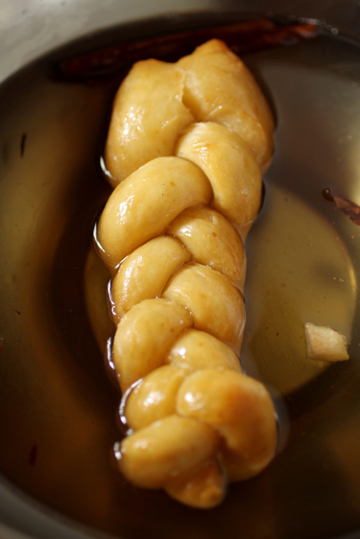 Koeksusters (South African Donuts) in syrup