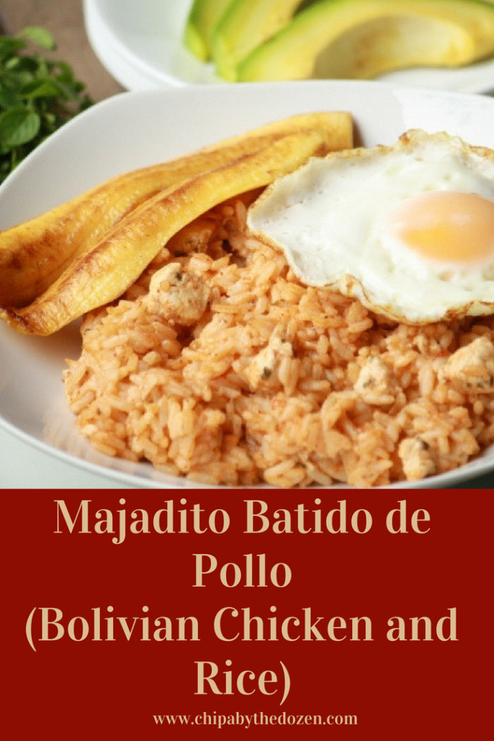 Majadito Batido de Pollo (Bolivian Chicken and Rice)