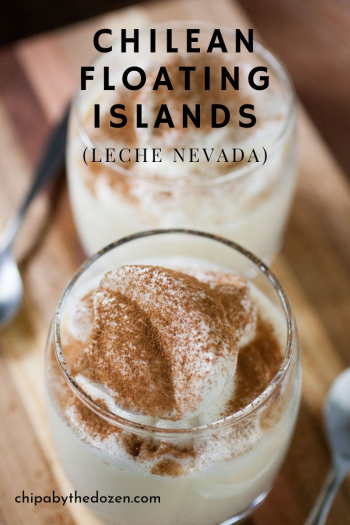 Chilean Floating Islands (Leche Nevada)