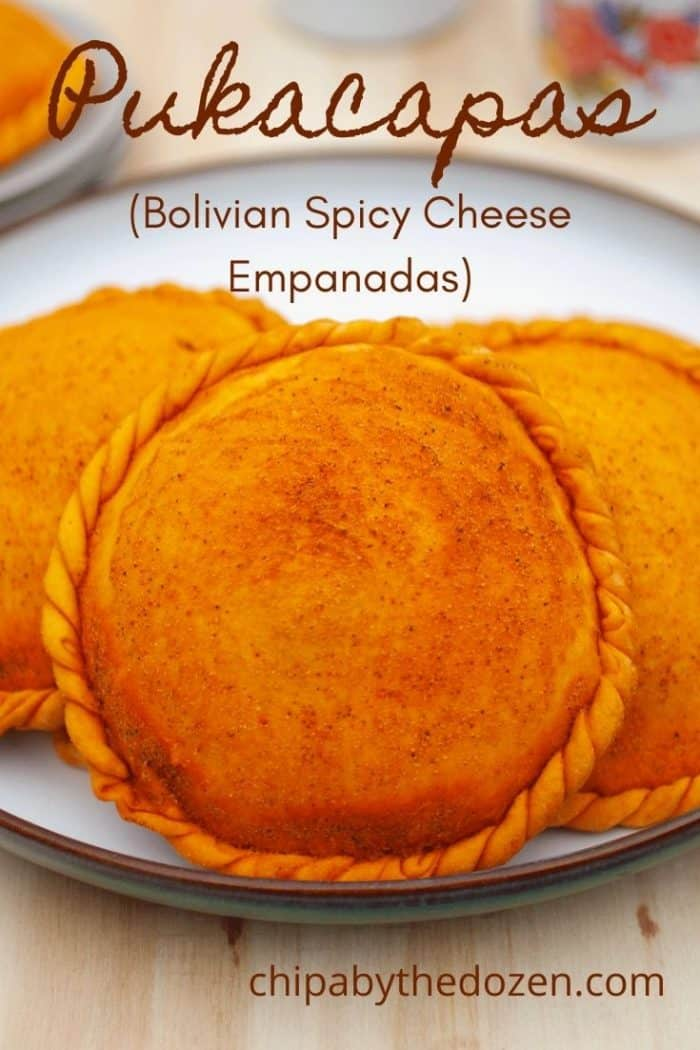 empanada with cheese and onions on a plate