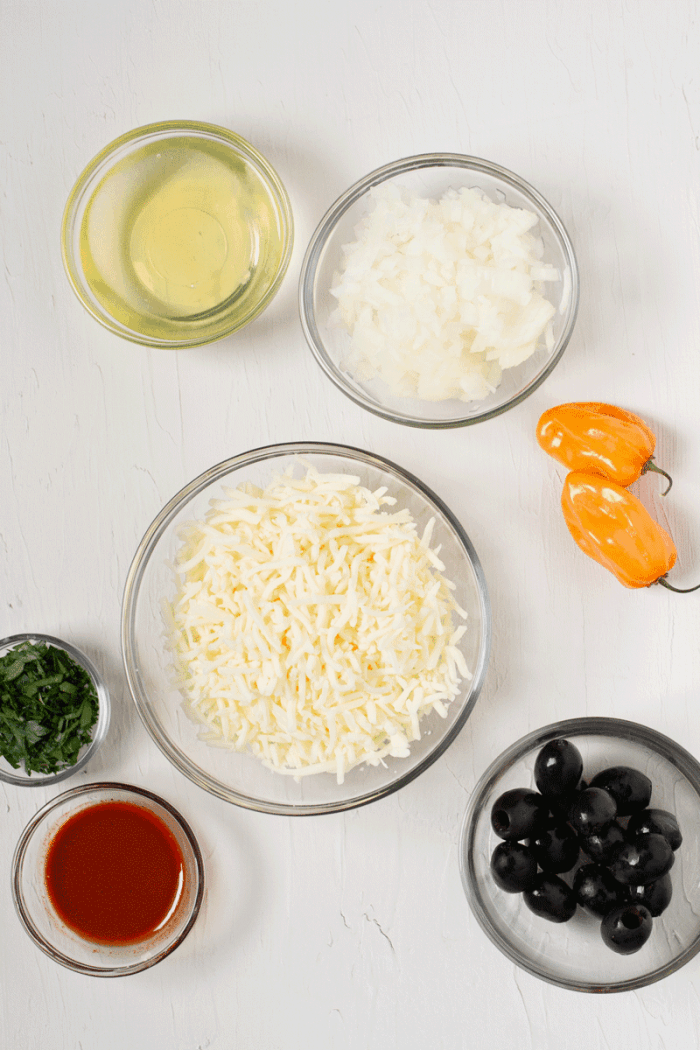 ingredients for cheese empanadas