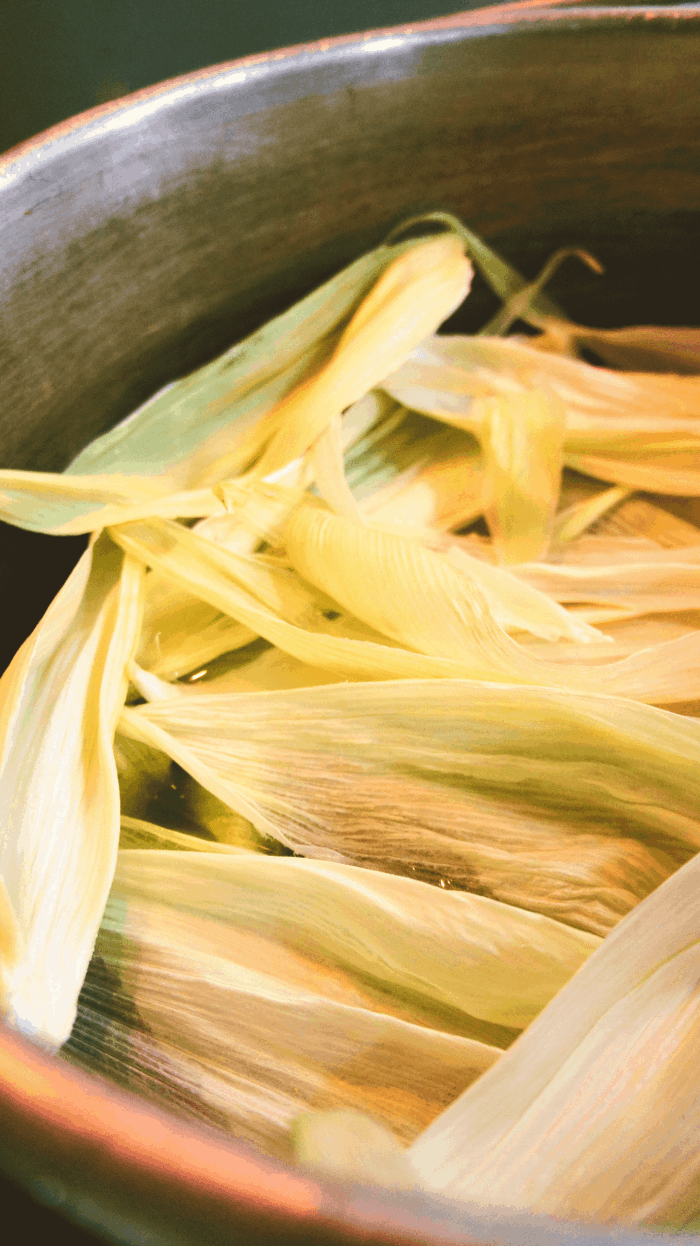 corn leaves for tamales