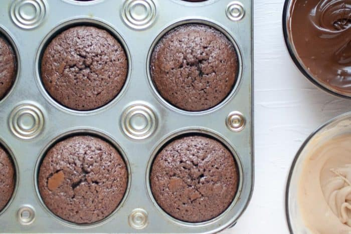brownies in a muffin tin