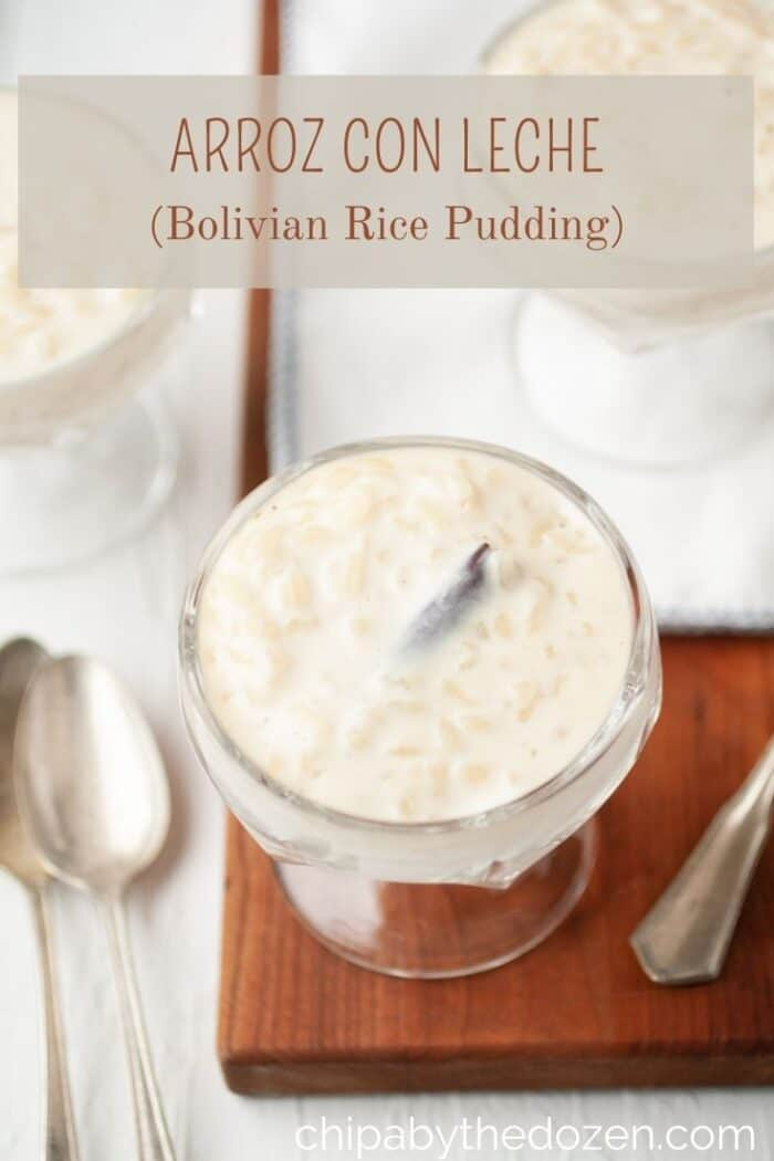 decorative picture of rice pudding
